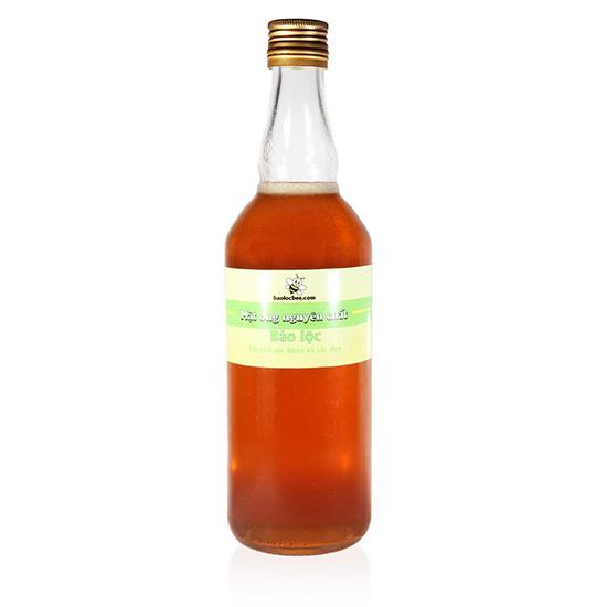 mật ong nguyên chất chai 500ml