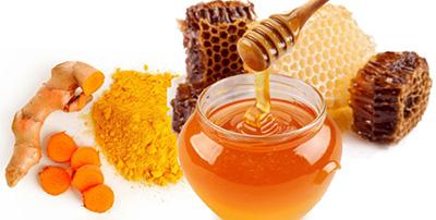 làm đẹp da với nghệ ngâm mật ong