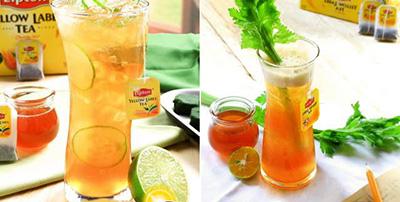 trà lipton chanh mật ong